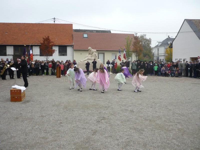 danse des filles 11 novembre 2014